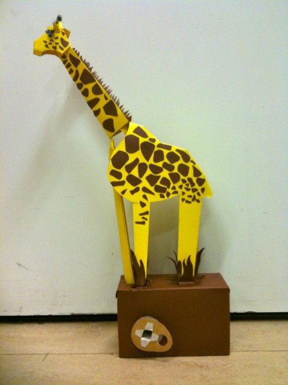My Giraffe Automata