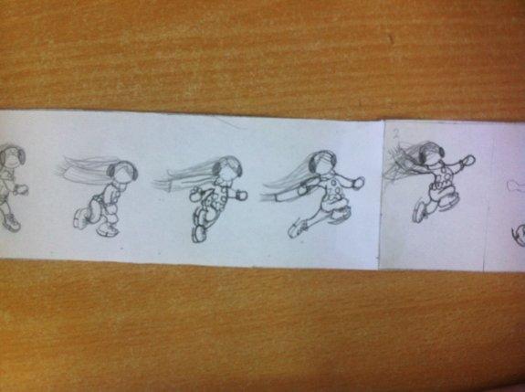 Ice Skater In Progress