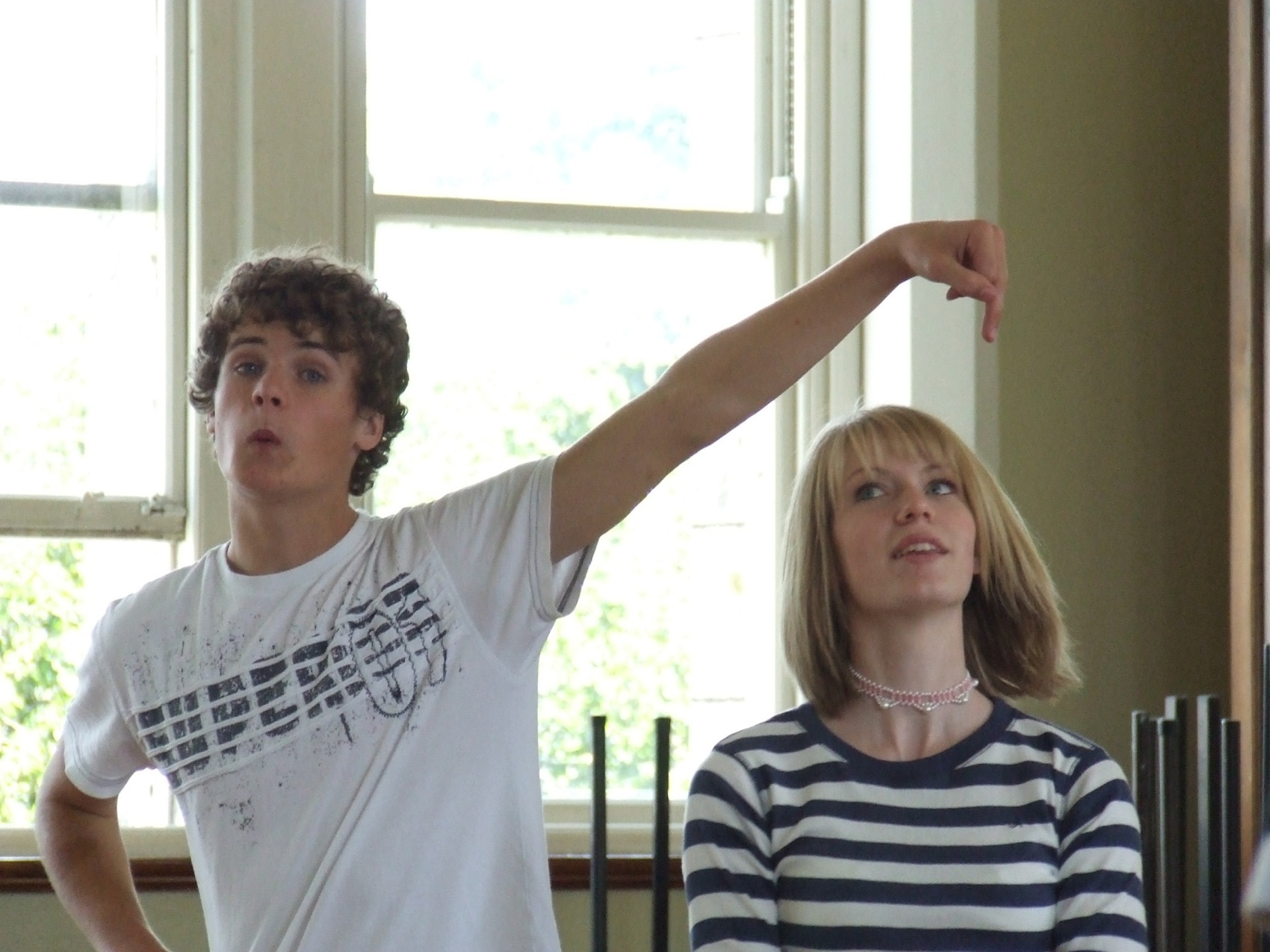 National Youth Theatre Rehearsals