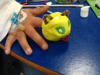 `Engaging collaborative arts practice with children in hospital`