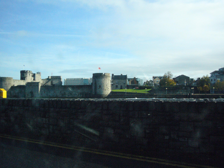 St John`s Castle and Thomond Bridge