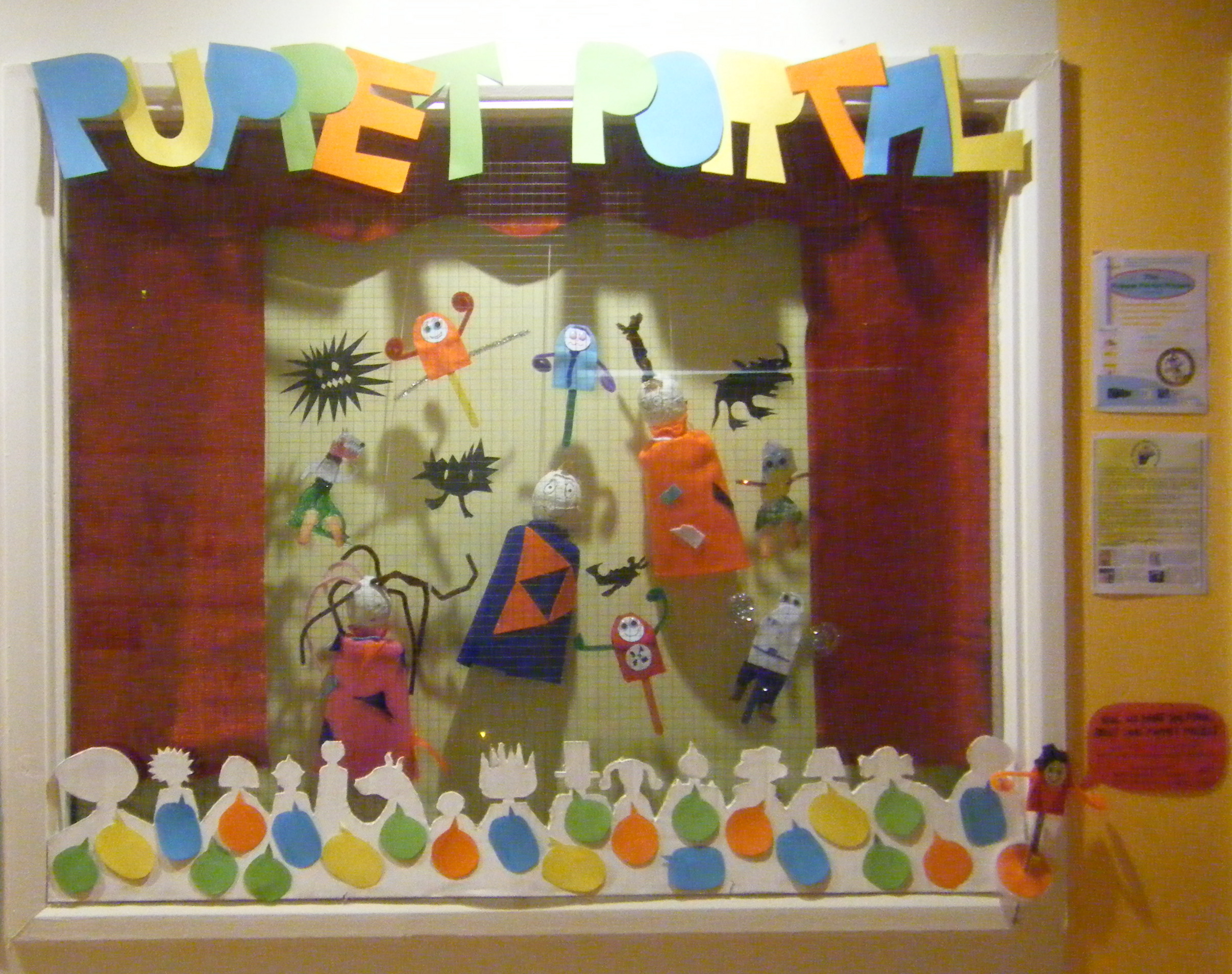 Puppet Window Display