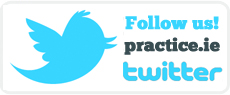 Follow us! Keep up to date and tweet with the Practice.ie team!